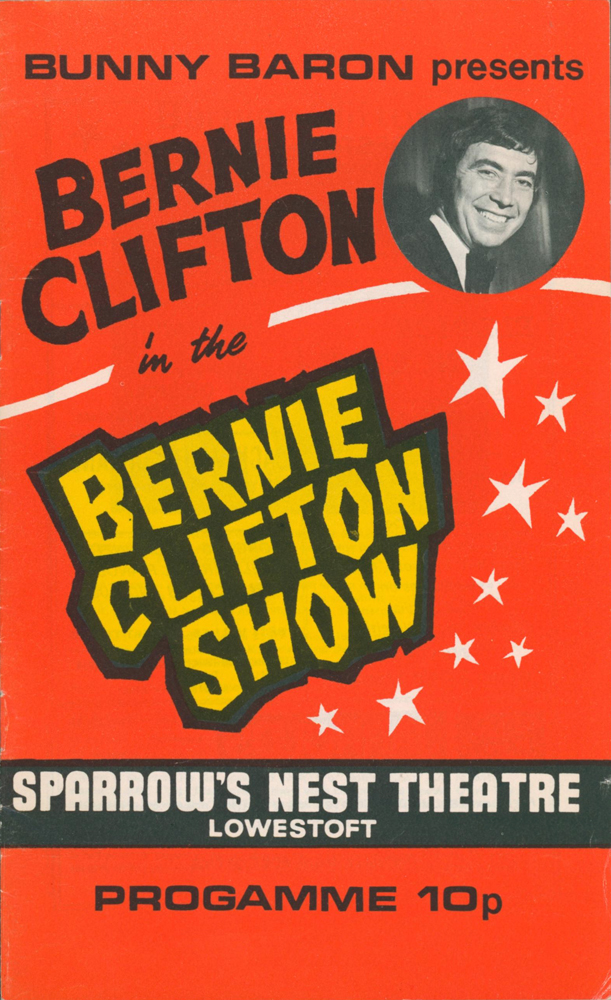 """Starlight Rendezvous 1961; Bernie Clifton in the Bernie Clifton Show 1977; Startime at the King's Theatre, Edinburgh 1968; The Bachelors in Holiday Startime 1965; The Helen Shapiro Show 1963; The Four Pennies Show; """"Once Upon a Fairy Tale"""" 1965; The Bachelors Show 1963; Herman's Hermits Show 1965; Good Timing 1960; The Brian Hyland and Little Eva Show 1963; An Evening with Engelbert Humperdinck 1967 [Souvenir Programmes]. Bernie CLIFTON, Joan SAVAGE, Cilla BLACK, THE BACHELORS, Frank BERRY, Helen SHAPIRO, Ronnie CORBETT, Marianne FAITHFULL, THE ZOMBIES, THE FOUR PENNIES, Marty WILDE, LULU, HERMAN'S HERMITS, Wayne FONTANA, THE FORTUNES, Billy FURY, Jimmy JONES, Dean ROGERS, Brian HYLAND, LITTLE EVA, Engelbert HUMPERDINCK."""