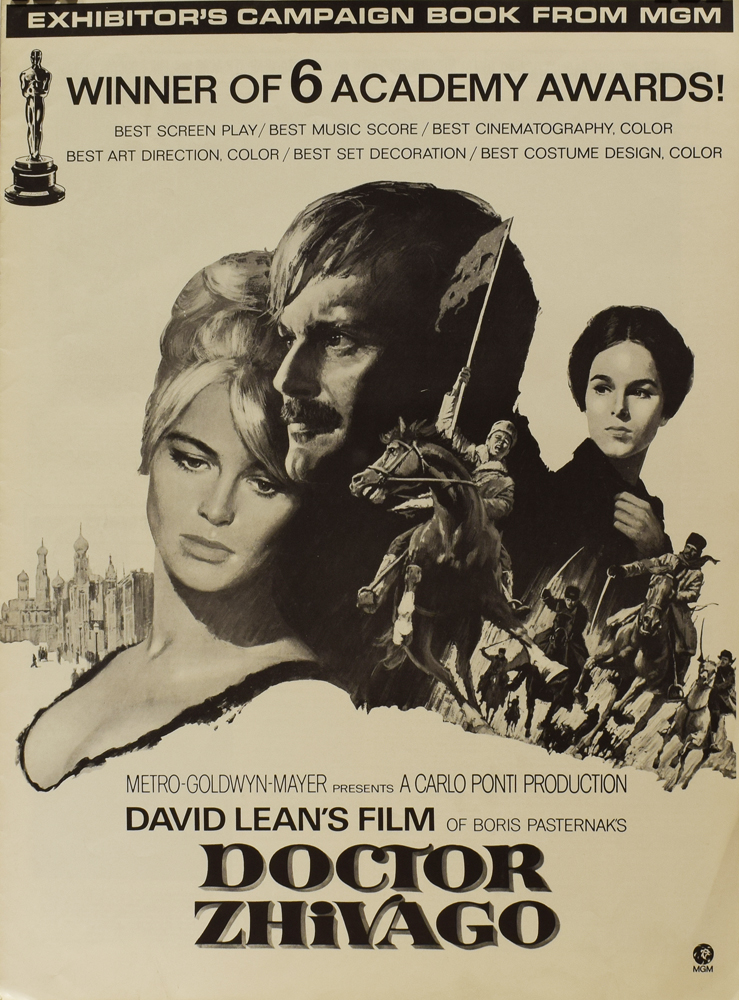 Doctor Zhivago: Exhibitor's Campaign Book from MGM. ANONYMOUS.