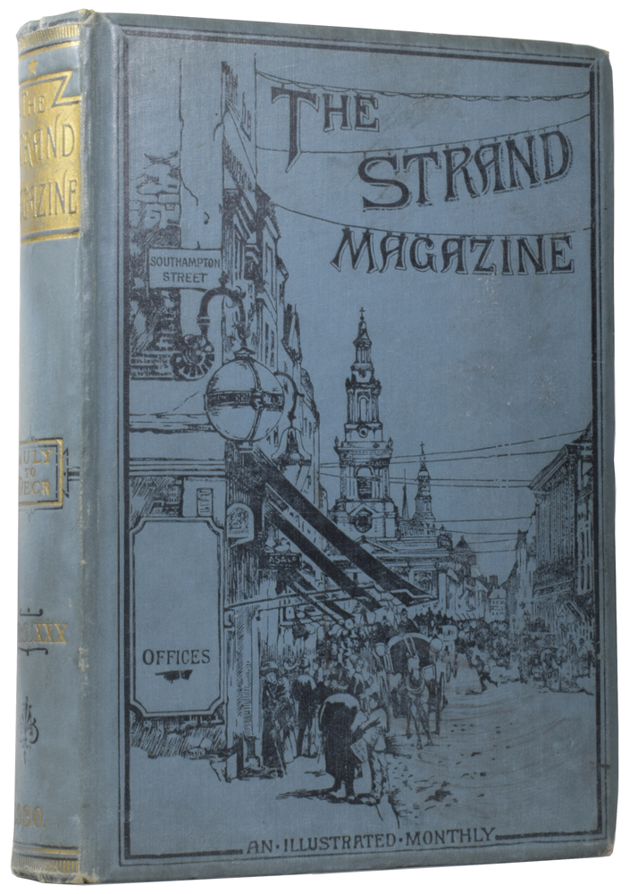 """A Scandal in Bohemia [and] The Passing of Conan Doyle [and] Best Seller [and] Big Money [and] My Gentle Readers [and] The Parish Magazine [and] The End of Devil Hawker [and] The Last Resource [and] Clemenceau - the Man and the Tiger [and] The Truth about the Ex-Kaiser [and] The Creaking Door [in] The Strand Magazine. Volume 80. Arthur Conan DOYLE, P. G. WODEHOUSE, Winston S. CHURCHILL, """"SAPPER"""", Sir, Herman Cyril MCNEILE."""