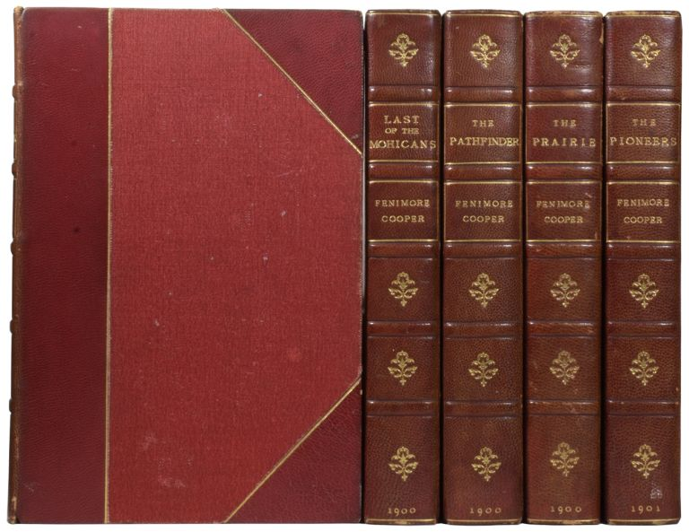 The Leatherstocking Tales. [The Deerslayer; The Last of the Mohicans; The Pathfinder; The Pioneers; The Prairie]. James Fenimore COOPER, H. M. BROCK.