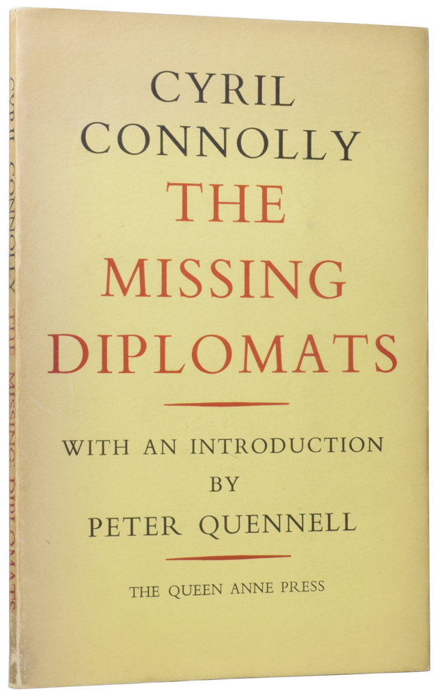 The Missing Diplomats. Cyril CONNOLLY.