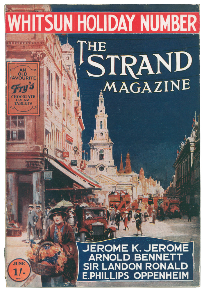 The Land of Mist [in] The Strand Magazine. Volumes 69, 70 and 71, numbers 414 to 423. Arthur Conan DOYLE, P. G. WODEHOUSE, Jerome K. JEROME, H. G. WELLS, Rudyard KIPLING, Pelham Grenville, Herbert George.