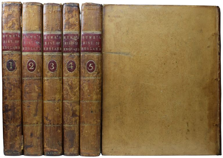 The History of England, from the Invasion of Julius Caesar to the Accession of Henry VII; under the House of Tudor; the Revolution in 1688. David HUME.