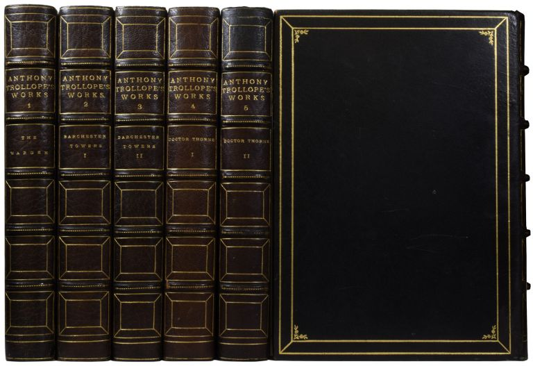 The Writings of Anthony Trollope. Collector's Edition. Anthony TROLLOPE.