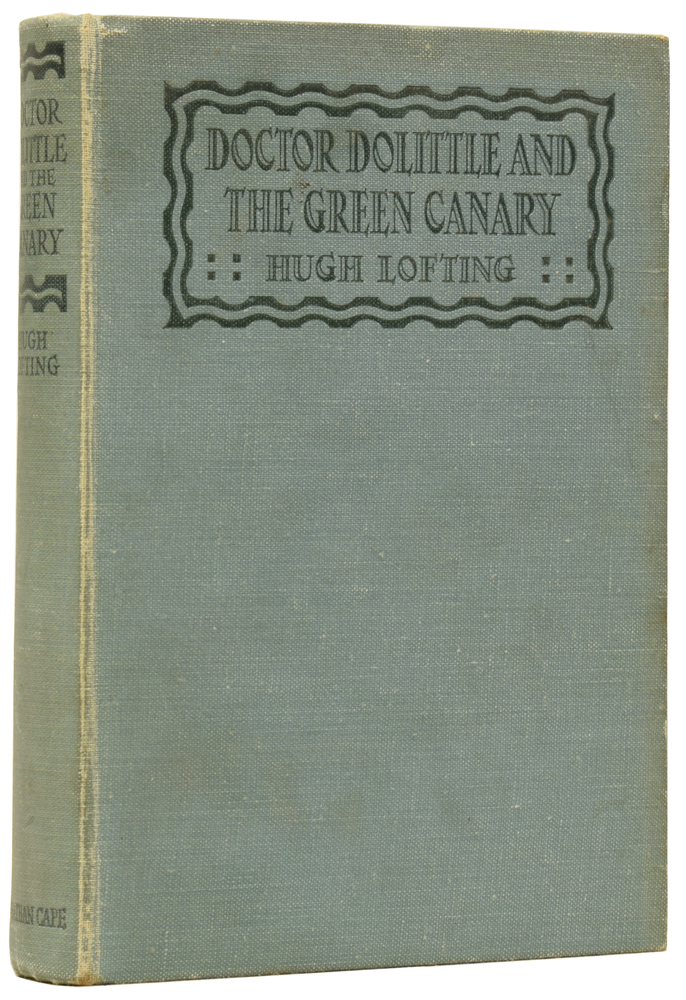 Doctor Dolittle and the Green Canary. Hugh LOFTING.