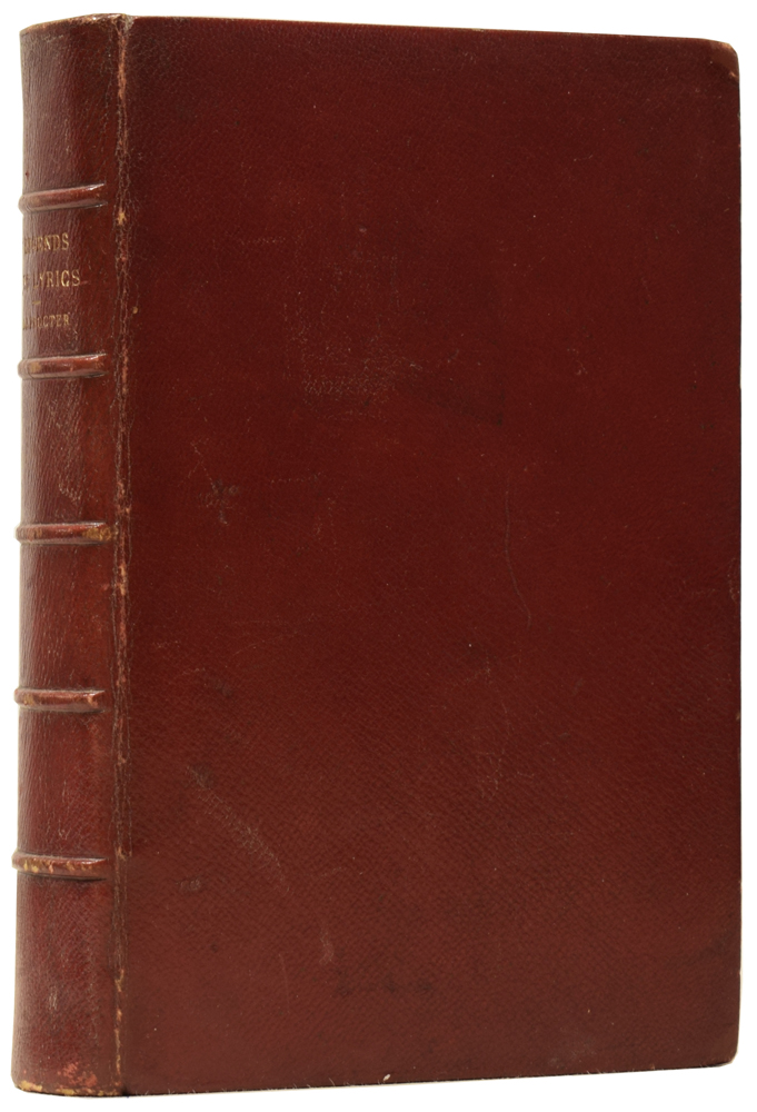 Legends and Lyrics. A Book of Verses. New Edition with Additional Poems. Adelaide Anne PROCTER, Charles DICKENS, introduction, Ida LOVERING.