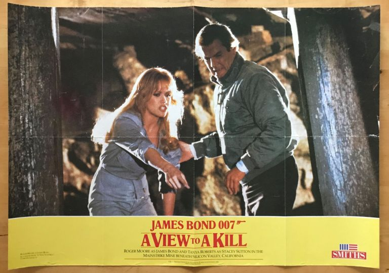 [MOVIE POSTER] A View To A Kill. Ian Lancaster FLEMING.
