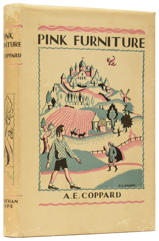 Pink Furniture. A Tale for Lovely Children with Noble Natures. A. E. COPPARD, Nancy Bankart GURNEY.