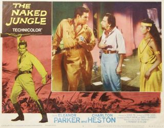 The Naked Jungle. LOBBY CARD