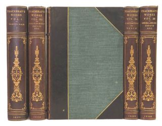 The Works of W. Thackeray. Including: Vanity Fair, Pendennis, Barry Lyndon, etc. William...