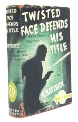 Twisted Face Defends His Title. Gilderoy DAVISON