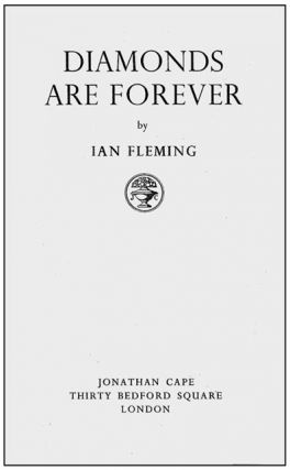 Diamonds are Forever. Ian Lancaster FLEMING
