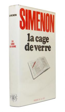La Cage de Verre (Text is in french). Georges SIMENON.
