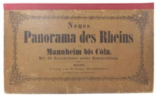 Neues Panorama Des Rheins Von Mannheim Bis Coln; and, The Rhine From Maynece To Cologne. ANON.