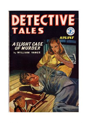 Vol. III, No. 10, August 1955. 'A Slight Case of Murder'. DETECTIVE TALES