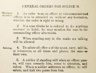 Extracts from Regimental Orders, for the Use of the First Battalion Grenadier Guards. ANONYMOUS