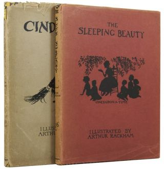 Cinderella. Together with The Sleeping Beauty. Illustrated by Arthur Rackham. C. S. EVANS,...