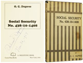 Social Security No. 438-10-1408. Orlean C. DUPREE