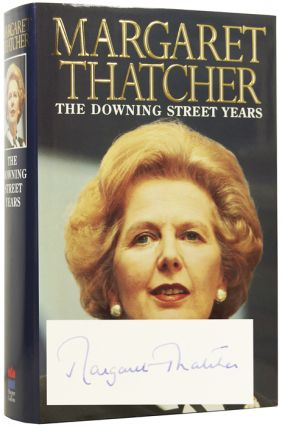 The Downing Street Years. Baroness Margaret THATCHER