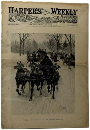 Harper's Weekly, Vol. XXXVII, No. 1917. [The Adventures of Sherlock Holmes - The Yellow Face]....