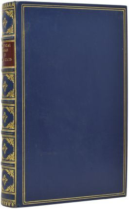 The Poetical Works of John Keats. John KEATS, H. W. GARROD