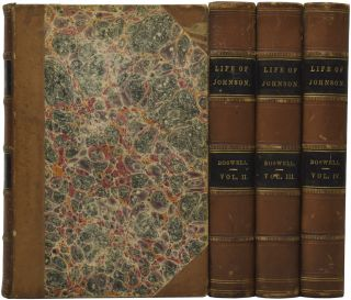 The Life of Samuel Johnson. Including a Journal of his Tour to the Hebrides. James BOSWELL, Rt....