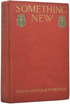 Something New. P. G. WODEHOUSE, Pelham Grenville, F. R. GRUGER