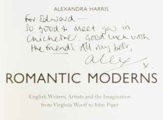 Romantic Moderns: English Writers, Artists and the Imagination from Virginia Woolf to John Piper.