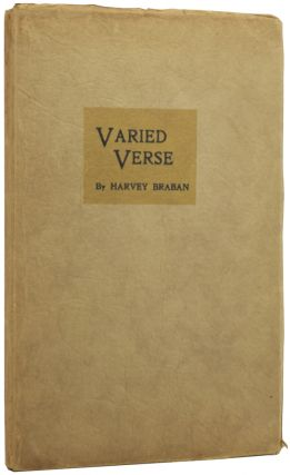 Varied Verse. Harvey BRABAN