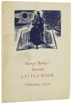 George Buday's Eleventh Little Book: The Rules of Etiquette for Ladies and Gentlemen, containing...