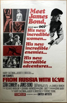 MOVIE POSTER] From Russia With Love