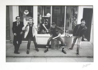 Neat Damned Box. Original Photographs. The Damned, Ian Dickson