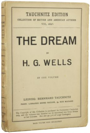 The Dream. H. G. WELLS, Herbert George