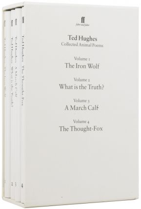 Collected Animal Poems: The Iron Wolf; What is the Truth?; A March Calf; The Thought-Fox. Chris...