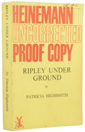 Ripley Under Ground. Patricia HIGHSMITH