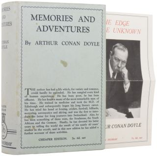 Memories and Adventures. [With a Sherlock Holmes Pastiche]. Arthur Conan DOYLE, Sir
