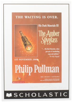 His Dark Materials: The Amber Spyglass. Philip PULLMAN, born 1946