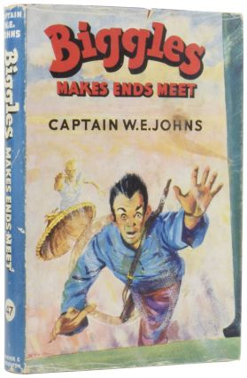Biggles Makes Ends Meet. Captain W. E. JOHNS, Leslie STEAD