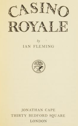 Casino Royale. Ian Lancaster FLEMING