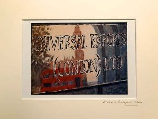 'Universal Exports'. JAMES BOND FILM REFERENCE, Richard DELAPORTE HEARN