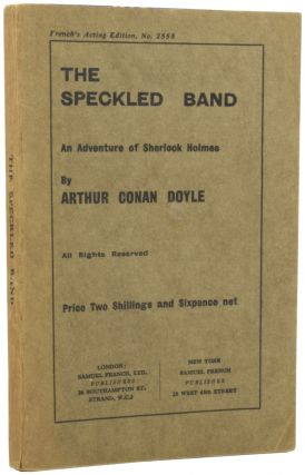 The Speckled Band [An Adventure of Sherlock Holmes]. Arthur Conan DOYLE, Sir
