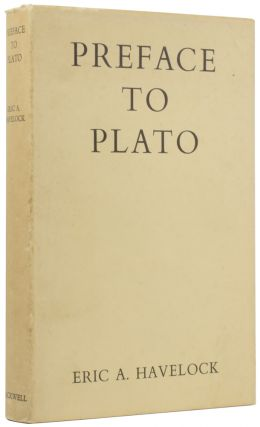 Preface to Plato. Eric A. HAVELOCK
