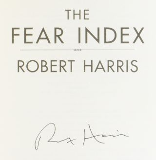 The Fear Index.