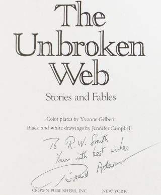 The Unbroken Web: Stories and Fables.