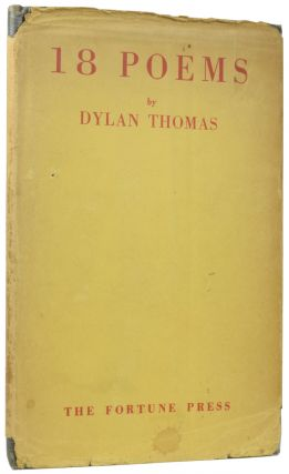 18 Poems. Dylan THOMAS