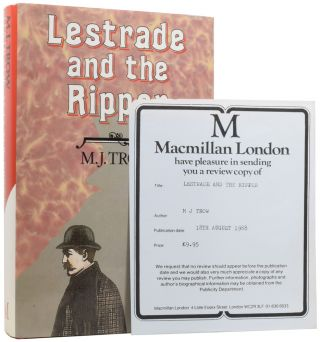 Lestrade and the Ripper. M. J. TROW, born 1949