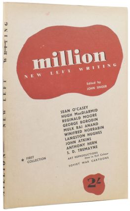 Million — New Left Writing. First Collection. Hugh MACDIARMID, Sean O'CASEY, John SINGER