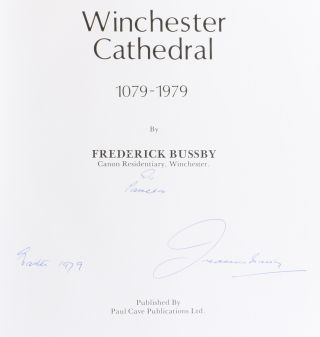 Winchester Cathedral 1079-1979.