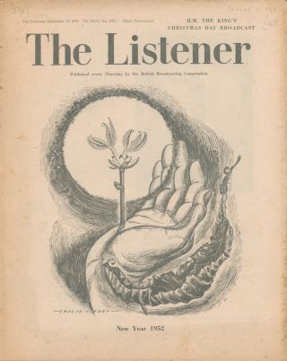 The Listener. Vol. XLVI No.1191. KING GEORGE VI, Winston CHURCHILL