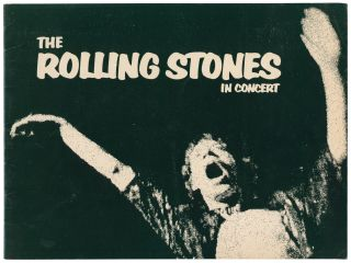 The Rolling Stones in Concert. [Exile on Main Street 'American Tour' Programme
